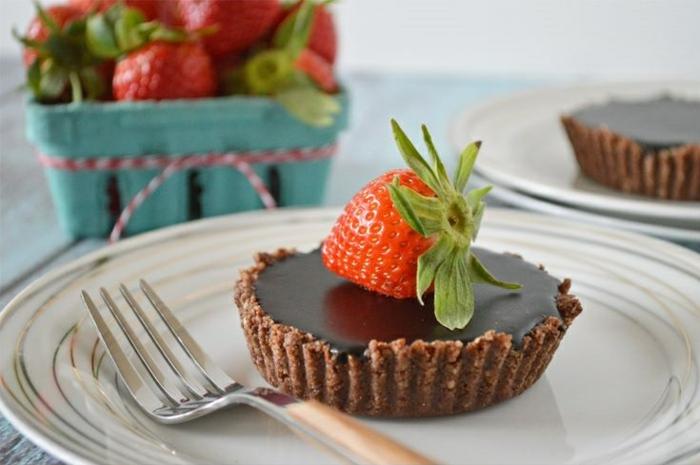 vegane schokolade zubereiten torte schokokuchen ideen