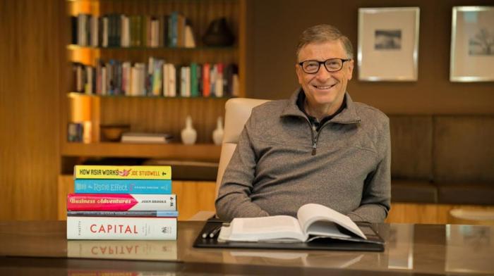 vermögen von Bill Gates buch premiere lebenlauf