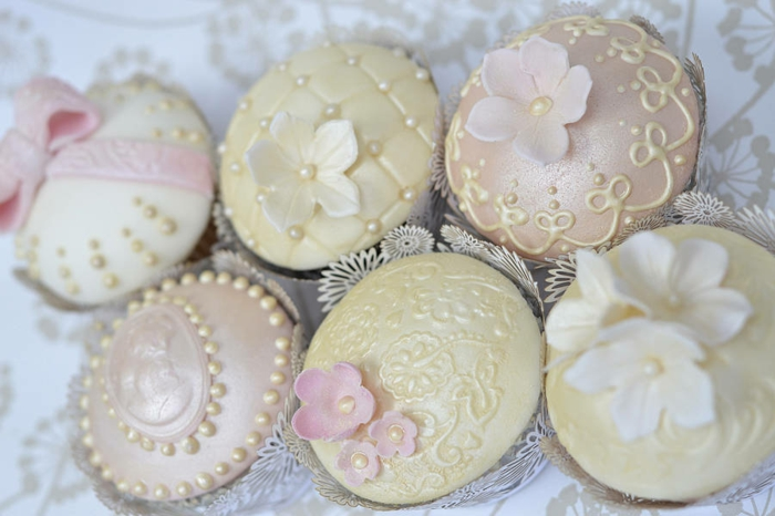 vintage hochzeit retro cupcakes