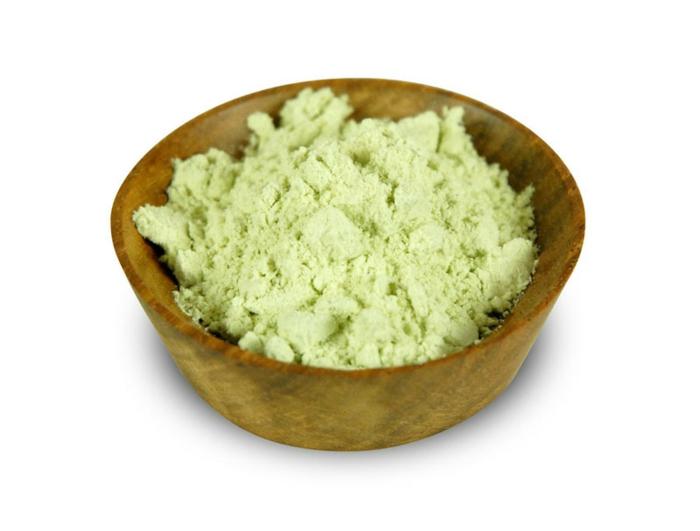 wasabi asiatische gerichte wasabi pulver
