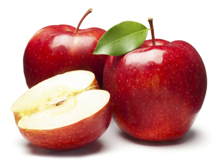 welcher hauttyp bin ich äpfel essen trockene haut
