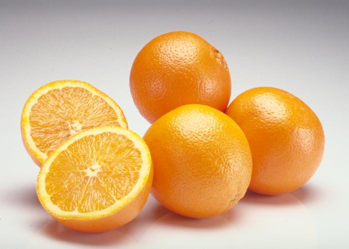 welcher hauttyp bin ich orangen essen fettige haut