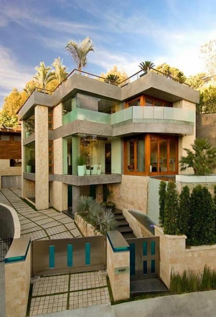wohnen im luxus vermögen von Bill Gates haus gebäude