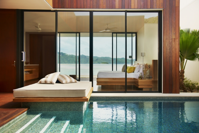wohnen im luxus vermögen von Bill Gates haus innenpool