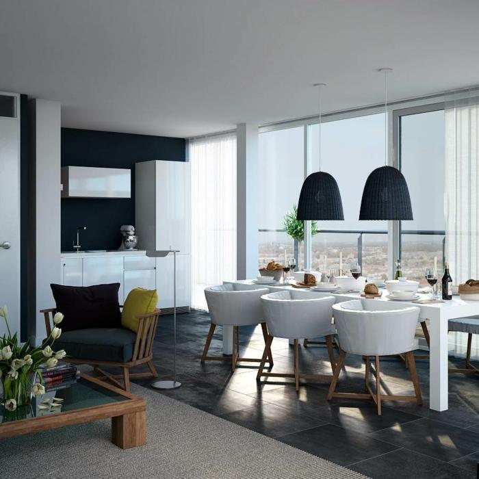 wohnzimmer design coole wohnzimmermöbel esstisch