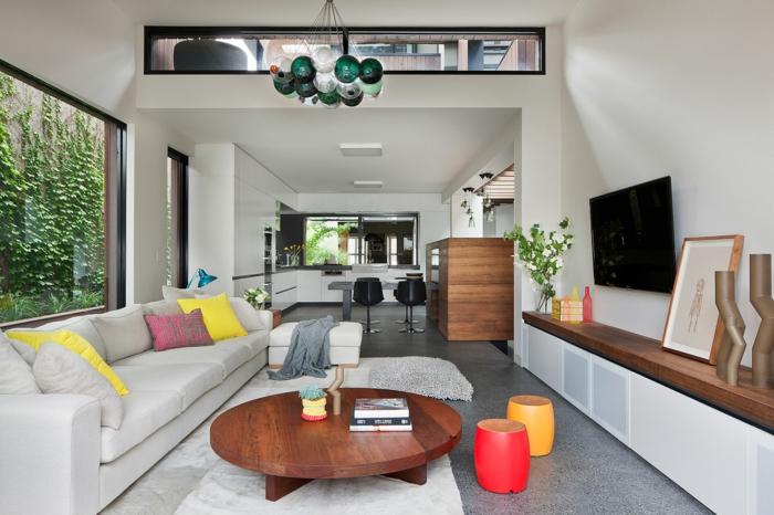 30 wohnzimmereinrichtung beispiele mit charme. Black Bedroom Furniture Sets. Home Design Ideas