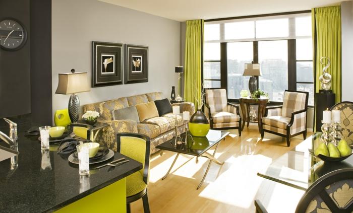 wohnzimmereinrichtung ideen luxuriöses wohnzimmersofa dekoideen küche