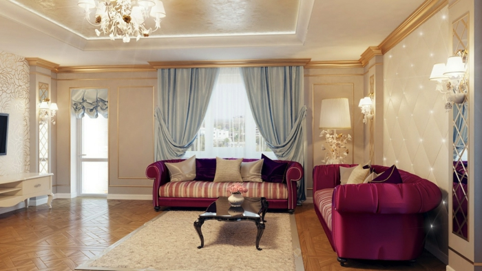 wohnzimmereinrichtungen prachtvolle ideen f r das wohnzimmer design. Black Bedroom Furniture Sets. Home Design Ideas