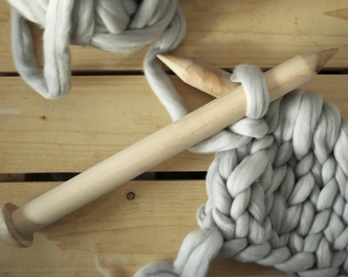 wolldecken strickarbeit stricken wolle