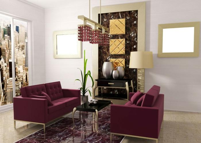 zimmerfarben ideen wohnzimmer creme wandfarbe coole sofas