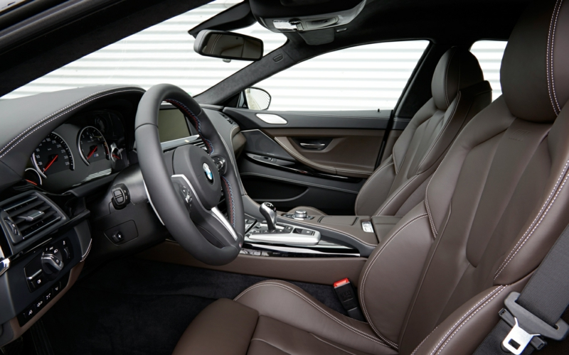 2014 BMW M6 Gran Coupe interior design