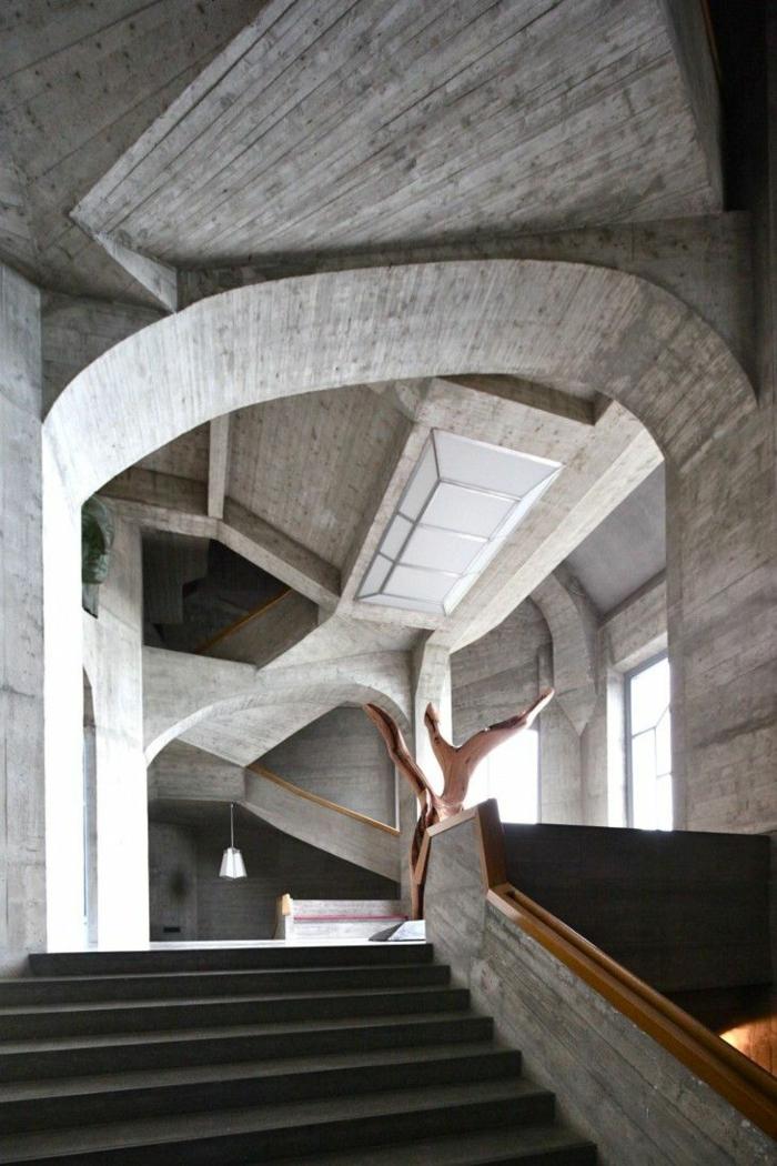 Treppenhaus architektur  Anthroposophische Architektur- Die Philosophische Bausweise