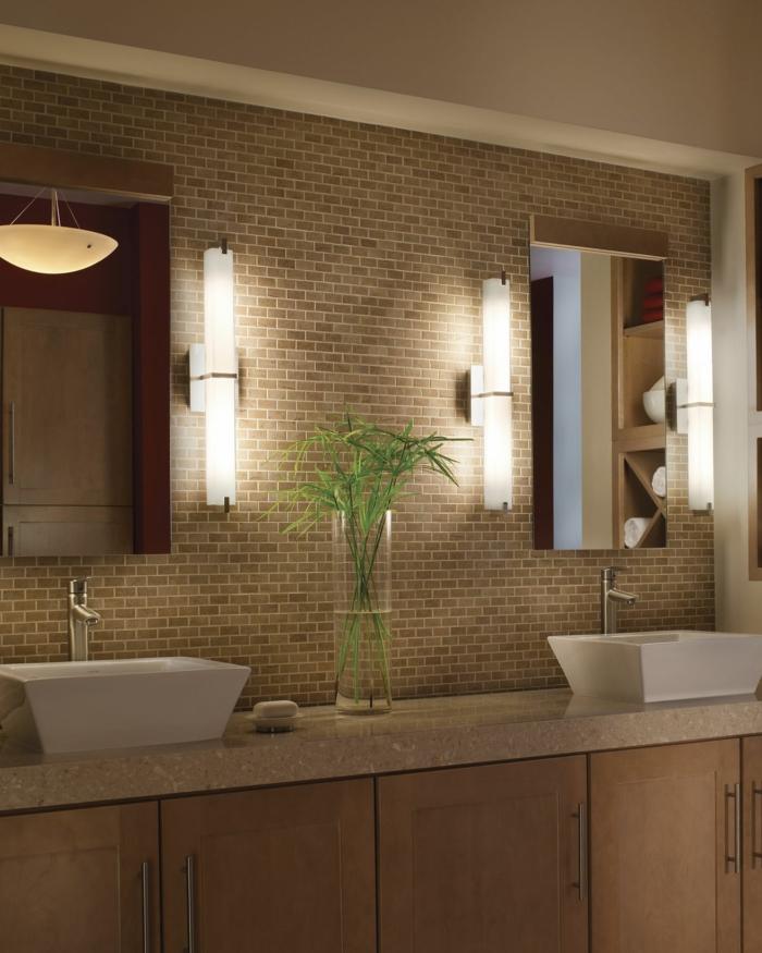 Badezimmer spiegel beleuchtung die praktisch sinnvolle notwendigkeit - Badezimmer beleuchtung ...