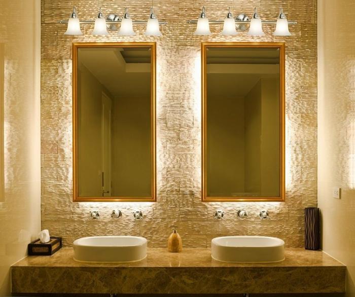 Spiegel Beleuchtung Badezimmer : Badezimmer Spiegel Beleuchtung- die praktisch- sinnvolle Notwendigkeit