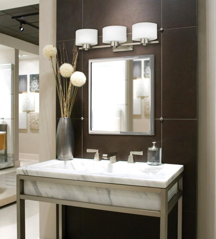 Badezimmer Spiegel Beleuchtung- Die Praktisch- Sinnvolle