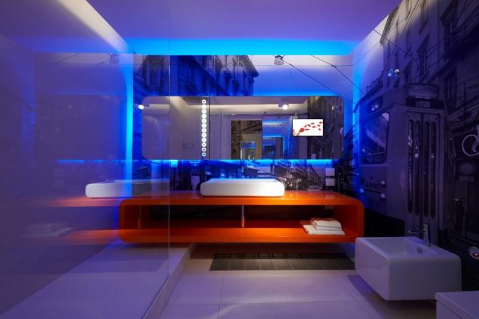 Bad Beleuchtung Modern ? Truevine.info Badezimmer Beleuchtung Modern
