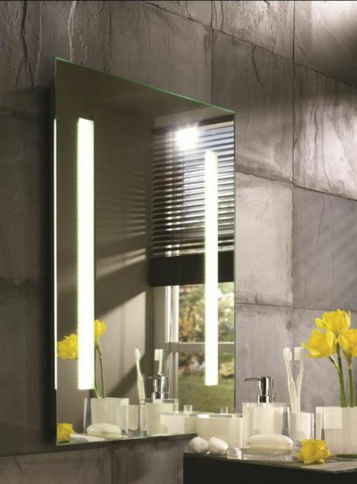 Badezimmer Spiegel Ideen Narzissen
