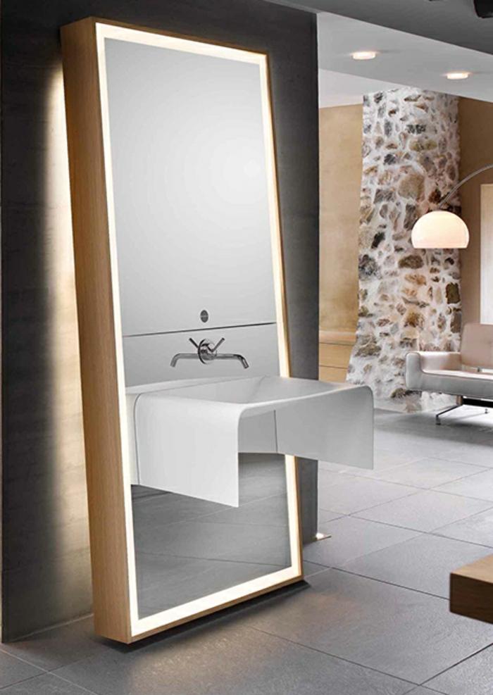 Badezimmer Spiegel Ideen Weiss top