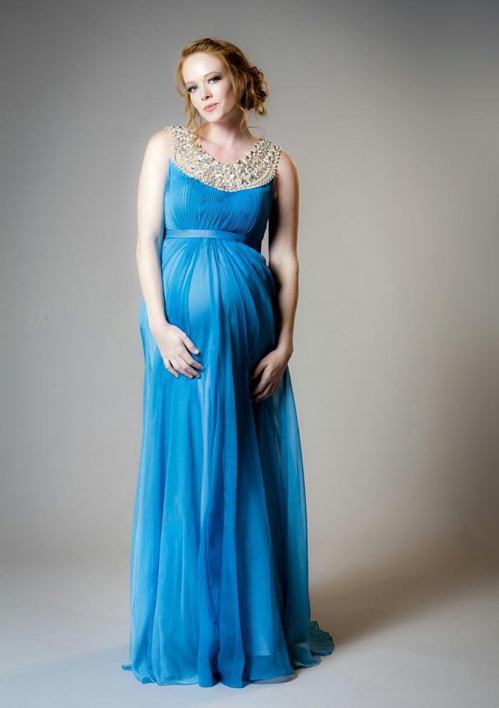 Hochzeitskleider blau
