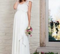 15 prächtige Brautkleider für Schwangere- so steht der Traumhochzeit nichts mehr im Wege