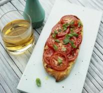 Bruschetta mit Tomaten- Die gesunde Naschidee