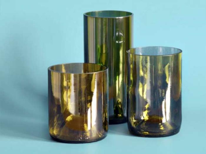 DIY Deko mit glasflaschen bastelideen gläser selber machen