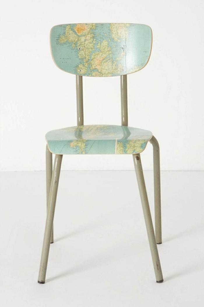 Design Interior weltatlas Stuhl ganz