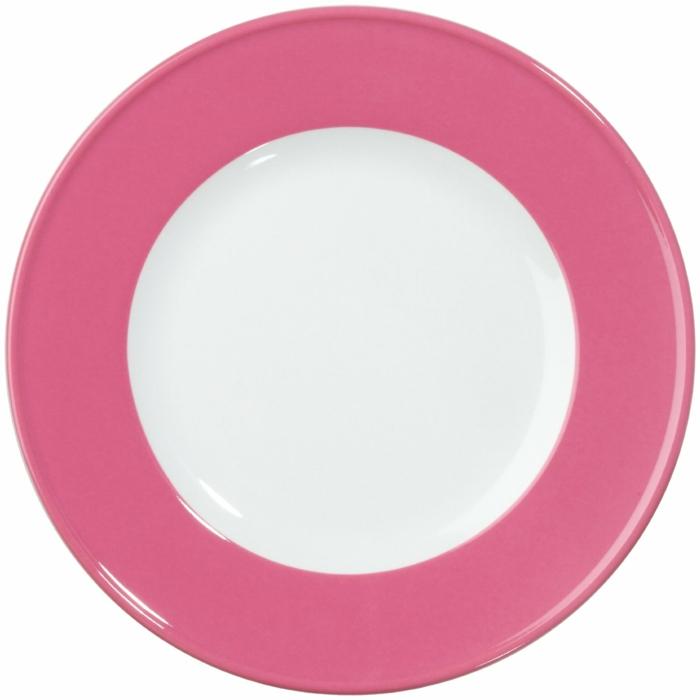 Designer Geschirr Dibbern rosa farbe