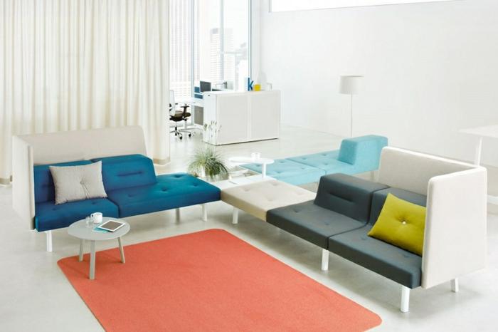 Docks möbelsysteme modulares sofa designer möbel ecksofa
