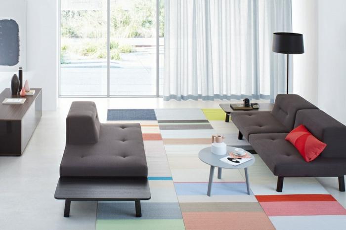 Docks möbelsysteme modulares sofa und designermöbel und moderne teppiche