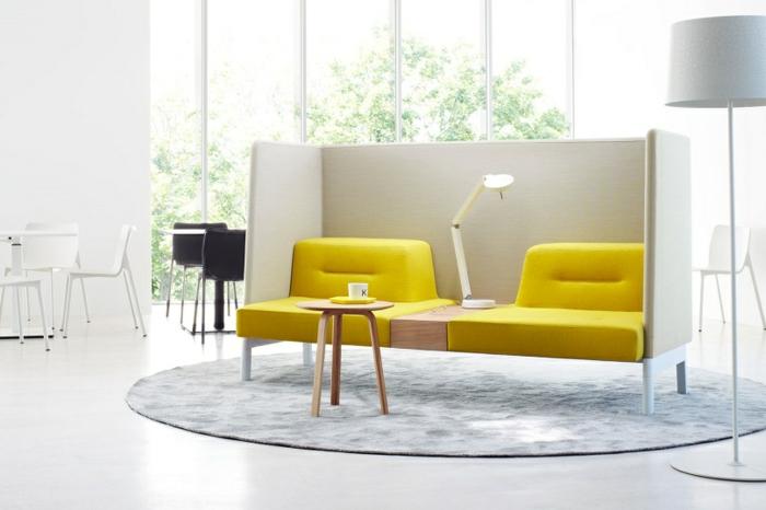 Modulares Sofa Aber Nicht Im Wohnraum Sondern Im Buro