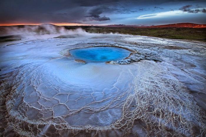 Feen und Elfen auf Island eis