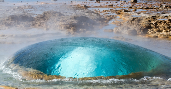 Feen und Elfen auf Island geyser