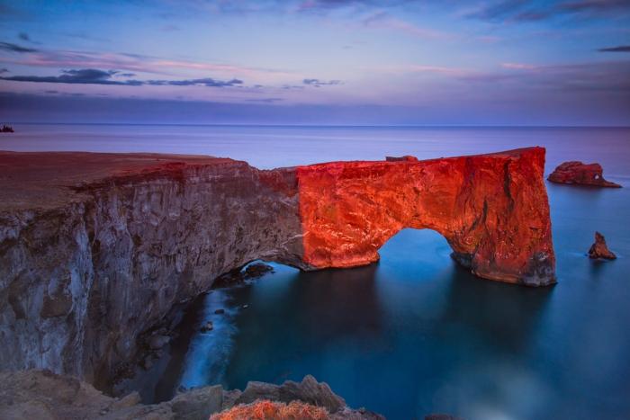 Feen und Elfen auf Island küste