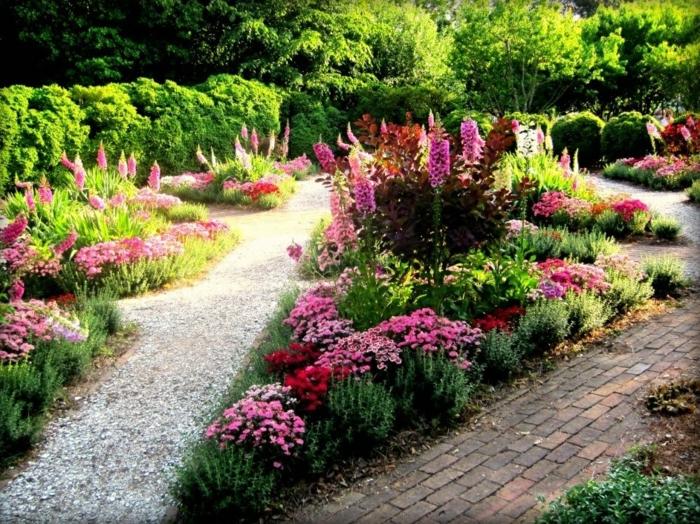 Garten und Landschaftsbau ansichts tulpen haus nelken