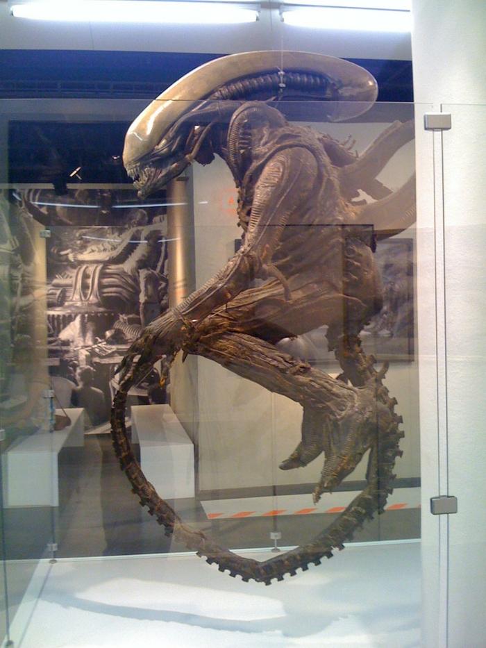 Giger Museum alien fragment alien