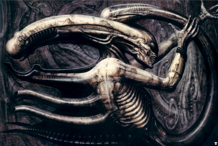 Giger Museum alien