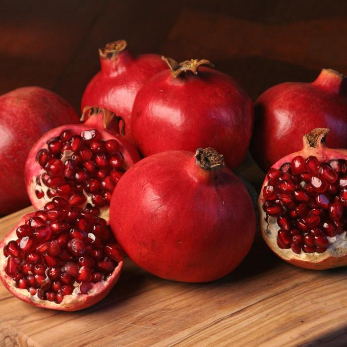 Granat apfel früchte
