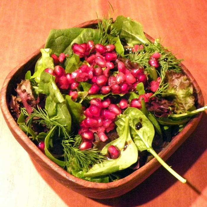 Granat apfel salat