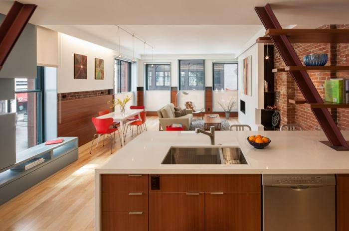 Hayden Building boston loft wohnung industrial style möbel