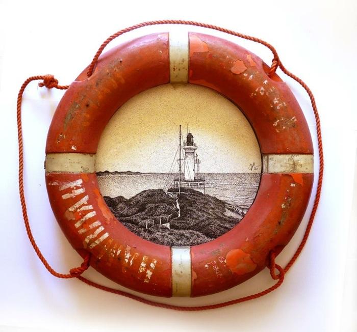 Jarryn Dower Art&Design alte gegenstände maritimer stil
