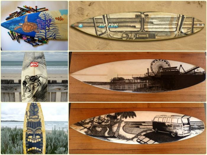 Jarryn Dower Art&Design kunstwerke auf surfbrett