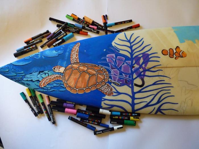Jarryn Dower Art&Design surf brette zeichnungen