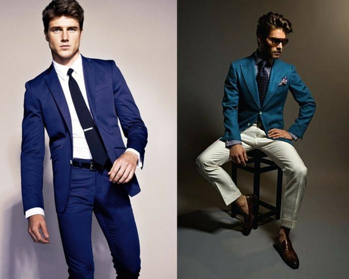 Krawatte binden Anleitung mode