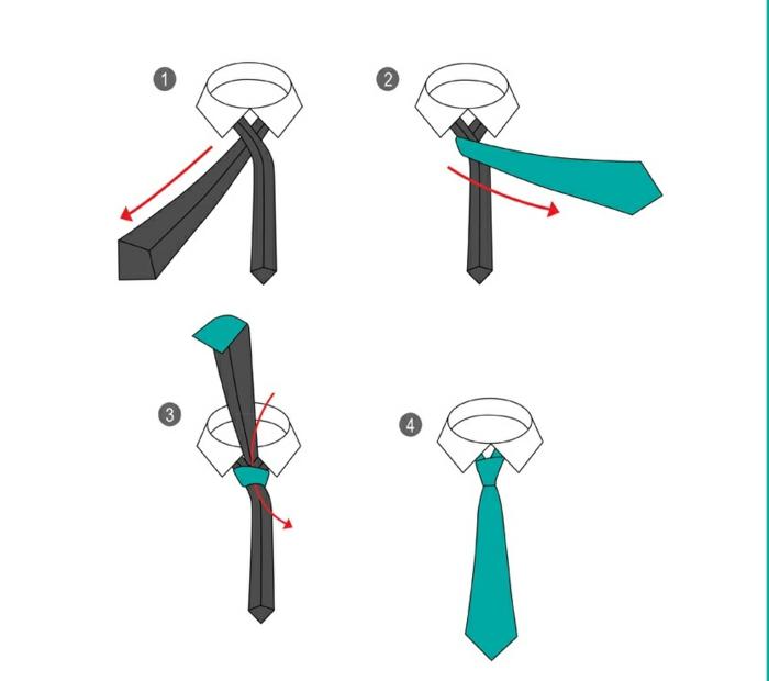 krawatte binden anleitung 11 seltene und elegante beispiele die sie zum frauenhelden machen. Black Bedroom Furniture Sets. Home Design Ideas