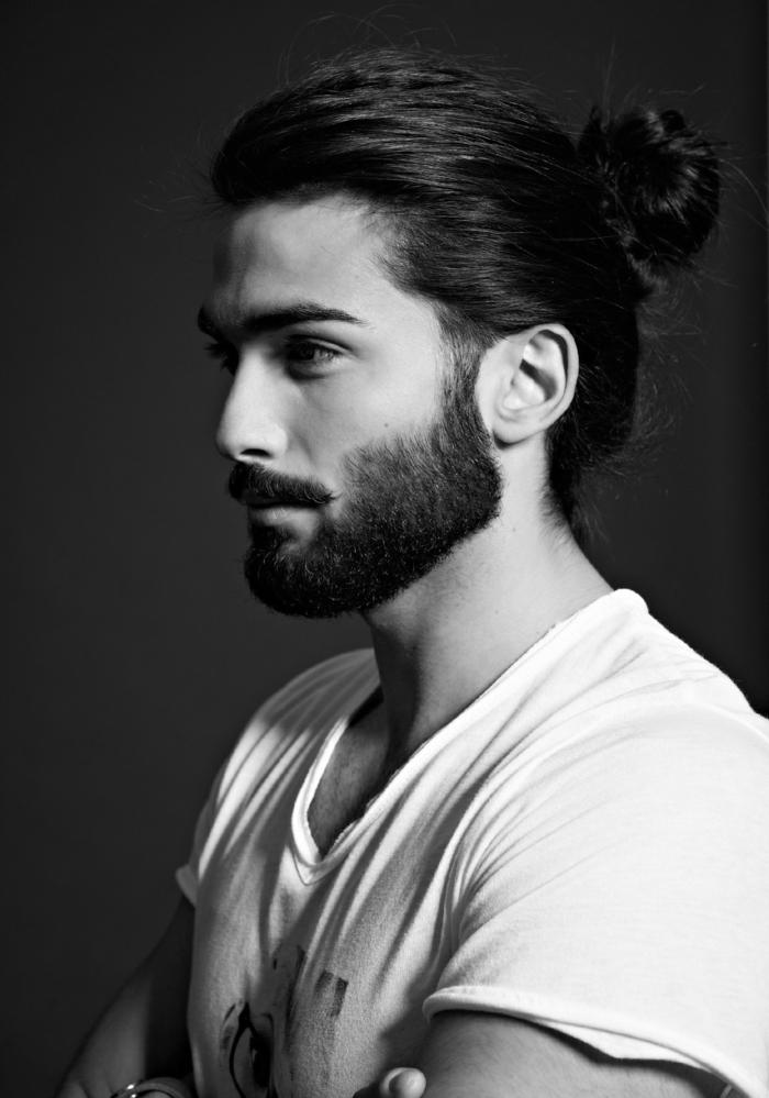Männer mit Bart schönheit