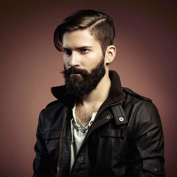 Männer mit Bart vollbart