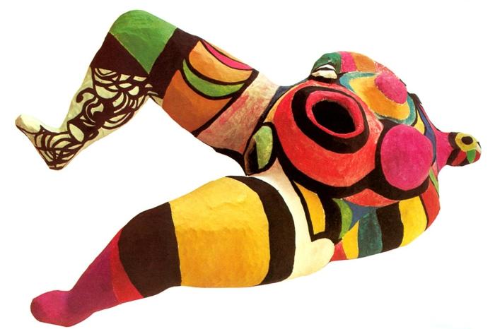 Niki de saint Phalle die grösste nana model