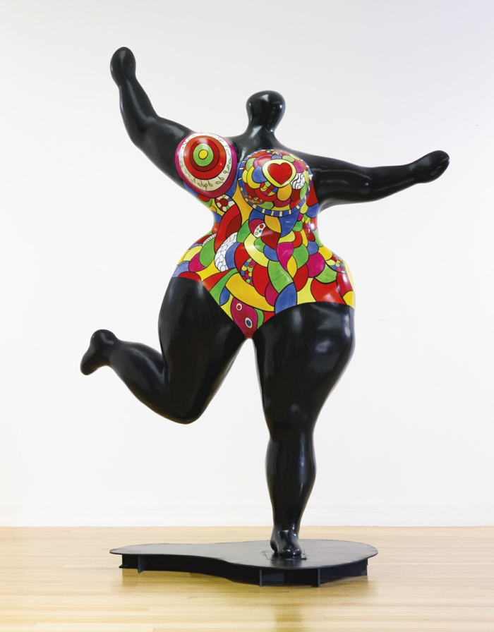 Niki- de- saint- Phalle-die-schwarze-nana