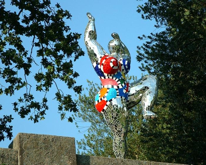 Niki de saint Phalle silber